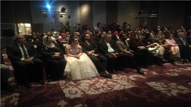 محمد حفظي من حفل توزيع جوائز «IREAD»